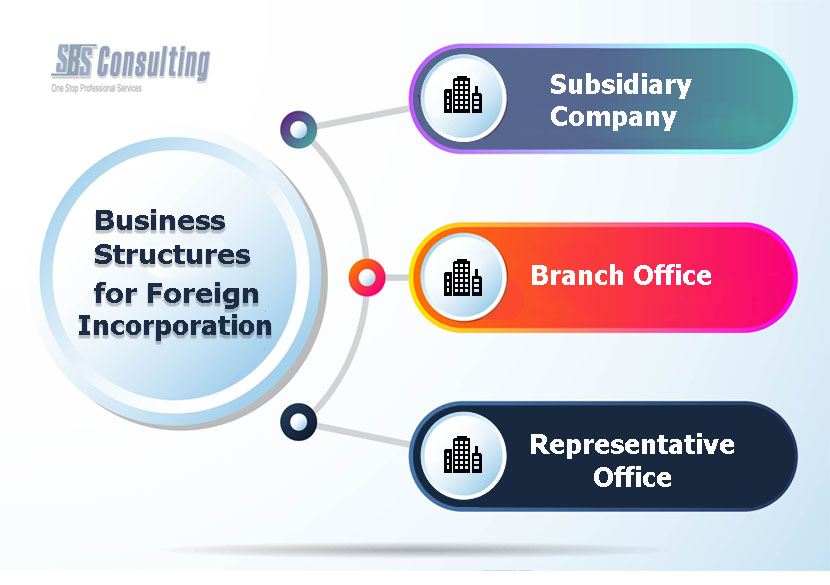 Business Structures for Foreign Incorporation