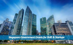 Singapore government grants for SME & Startups